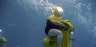 Scuba Diving Chair