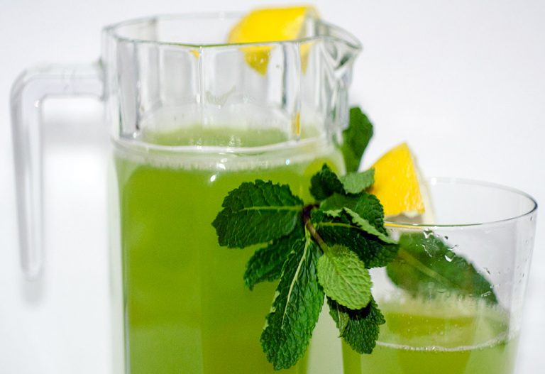 Make your Green Detox Flavored Water