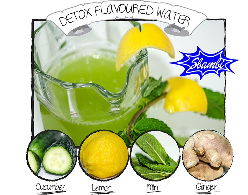 detox flavored water