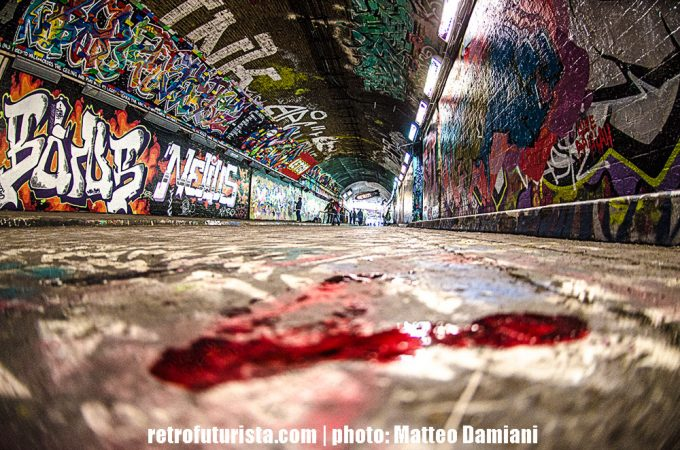 Leake Street: London's graffiti tunnel