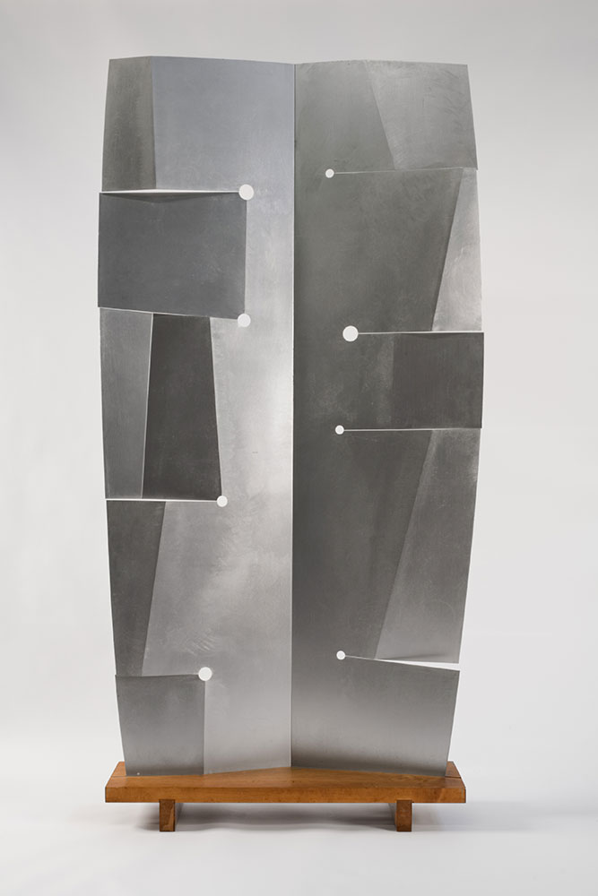Orpheus, 1958, by Isamu Noguchi (American, 1904–1988). Aluminum