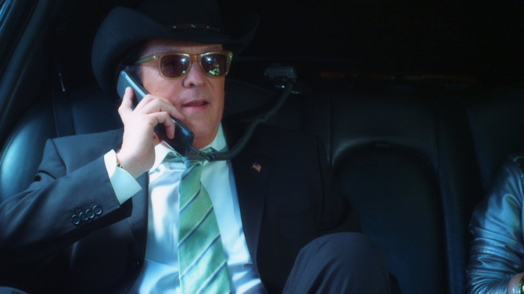 """Michael Madsen as """"The President"""" in Unbelievable!!!!!"""