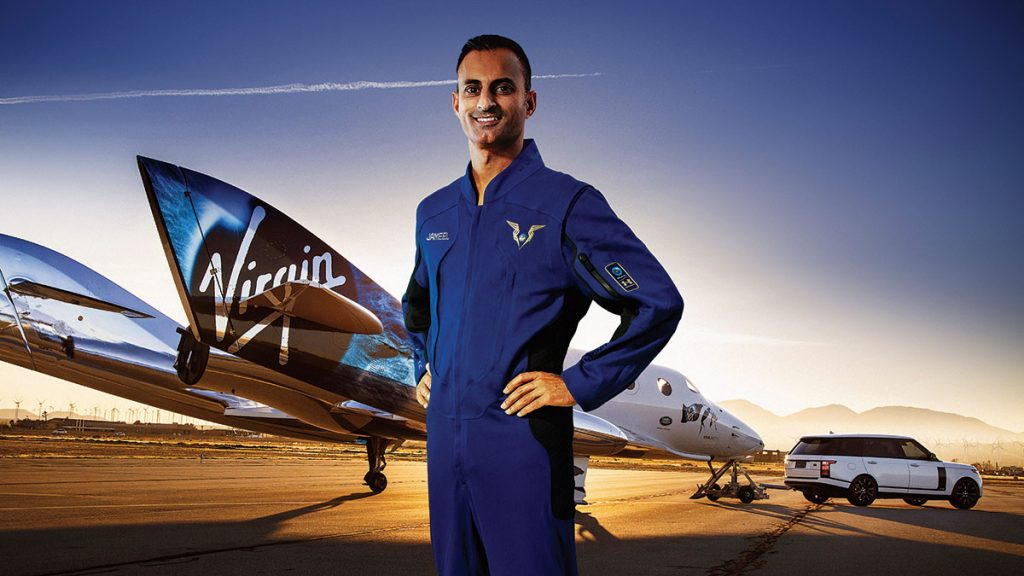 Virgin Galactic Pilot, Jameel Janjua